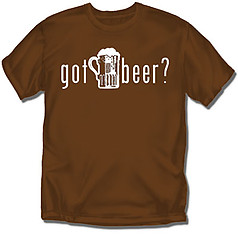 Coed Sportswear Drinking T-Shirt: Got Beer?