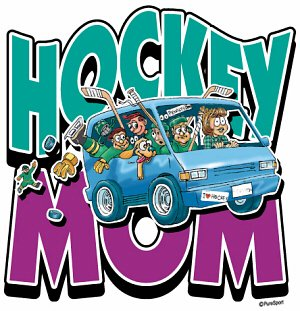 Hockey Sweatshirt: Hockey Mom Van