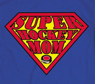 Pure Sport Hooded Sweatshirt: Super Hockey Mom
