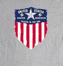 Long Sleeve Soccer T-Shirt: Soccer USA