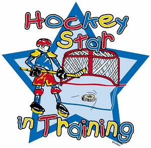 Hockey T-Shirt: Hockey Star (Infant/Toddler)