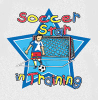 Pure Sport Soccer T-Shirt: Soccer Star (Infant/Toddler)