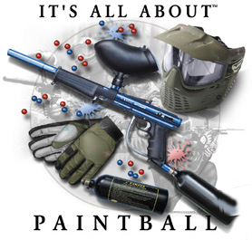 Coed Sportswear Paintball T-Shirt: All About Paintball