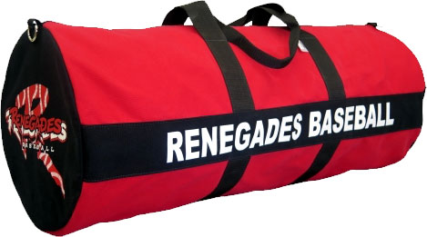 Canvas Custom Baseball Softball Team Equipment Bag 13