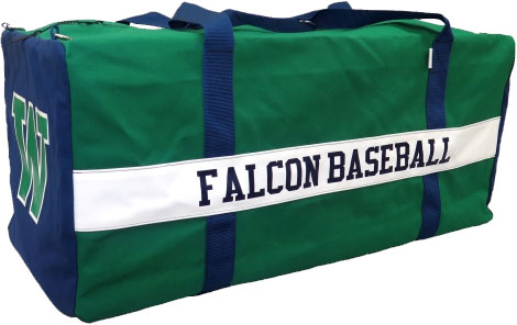 Canvas Custom Baseballsoftball Large Catcher Bag 16 X 16 X 36