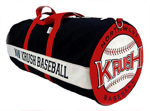 Canvas Custom Baseball Softball Team Equipment Bag 15