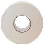 (SPlus) Hockey Tape: White Cotton Cloth, 1 inch x 25 yds. (Cosmetic Seconds)