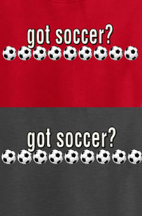 Long Sleeve Soccer T-Shirt: Got Soccer